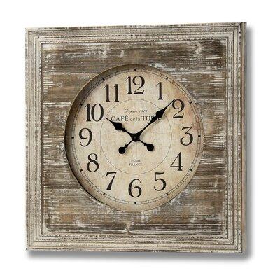 Hill Interiors Cafe De La Tour Wall Clock