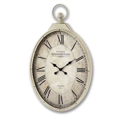 Hill Interiors Kensington Station Oval Wall Clock