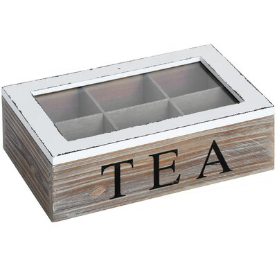 Hill Interiors Tea Bag Box