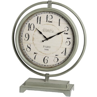 Hill Interiors Mantel Clock