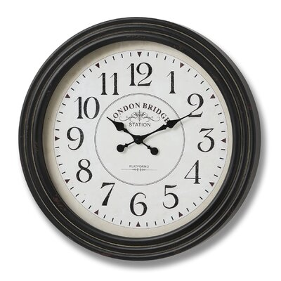Hill Interiors Oversized 78cm London Bridge Station Clock