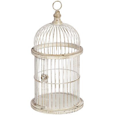 Hill Interiors Decorative Style Birdcage Candle Holder