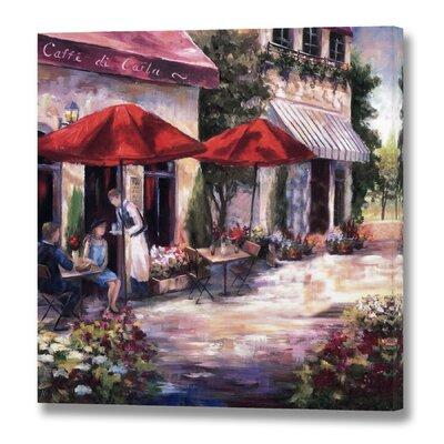 Hill Interiors Caffe Di Carla Art Print on Canvas