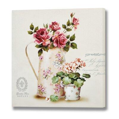 Hill Interiors Botany Roses Art Print on Canvas