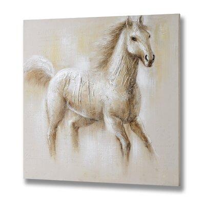 Hill Interiors Prancing Pony Art Print on Canvas