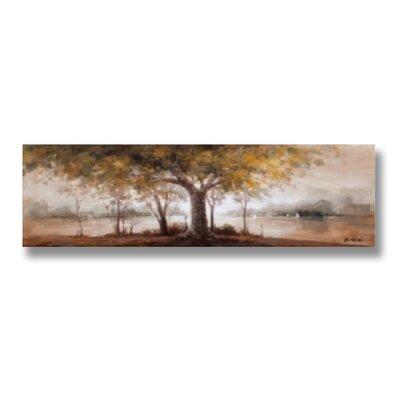 Hill Interiors Autumn Trees Art Print on Canvas