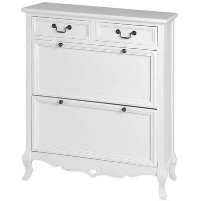 Hill Interiors Essence 2 Door 2 Drawer Chest of Drawers