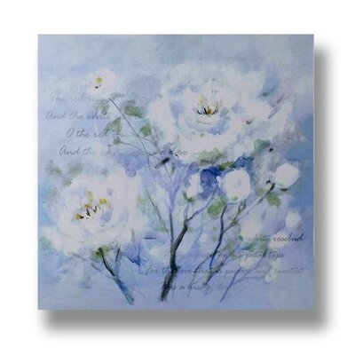 Hill Interiors Roses Original Painting on Canvas