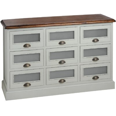 Hill Interiors Lyon 9 Drawer Chest of Drawers