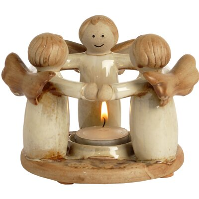 Hill Interiors Circle of Angels Votive