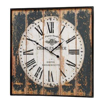 Hill Interiors Charles River Wall Clock