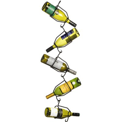 Hill Interiors 5 Bottle Hanging Wine Rack