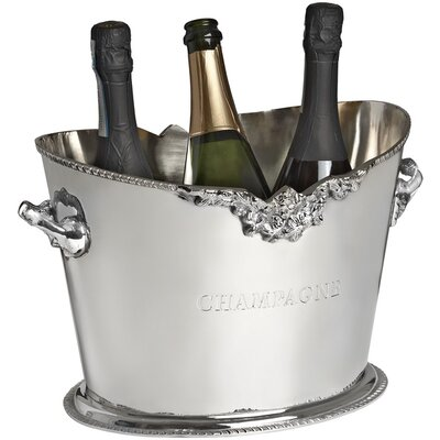 Hill Interiors 33cm Oval Champagne Cooler