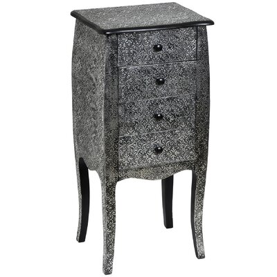 Hill Interiors Marrakech 4 Drawer Chest of Drawers