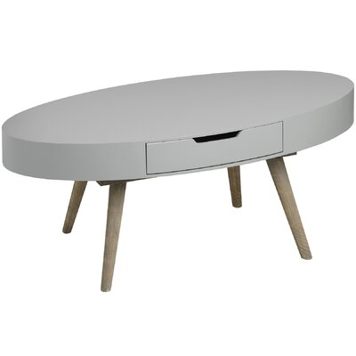 Hill Interiors Contour Coffee Table with Two Drawers