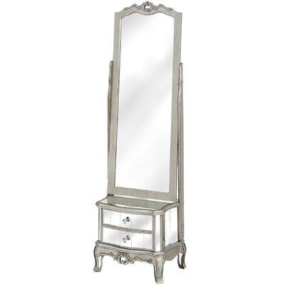 Hill Interiors Argente Rectangular Dressing Table Mirror