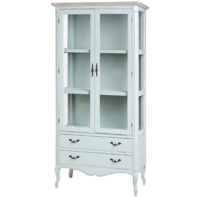 Hill Interiors Duck Egg Blue China Cabinet