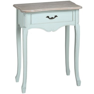Hill Interiors Duck Egg Blue One Drawer Bedside Table