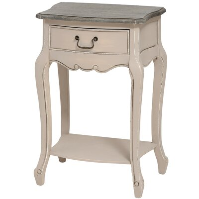 Hill Interiors Manor House 1 Drawer Bedside Table
