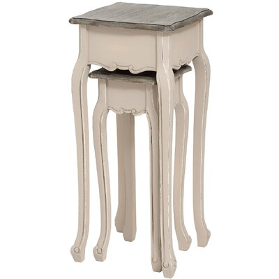 Hill Interiors Manor House 2 Piece Nest of Tables