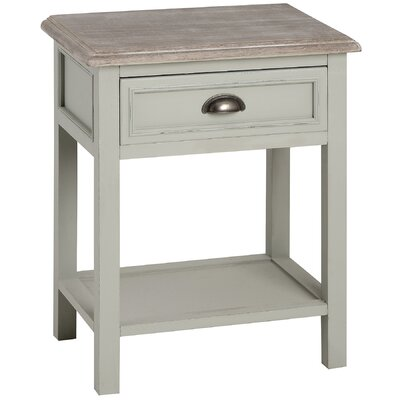 Hill Interiors New Lyon 1 Drawer Bedside Table
