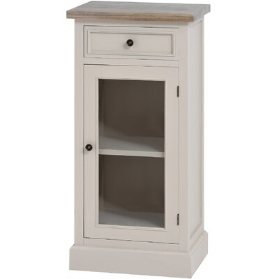Hill Interiors Studley Solid Fir Wood Glazed Cabinet