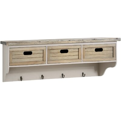 Hill Interiors the Studley Collection 3 Basket Wall Unit