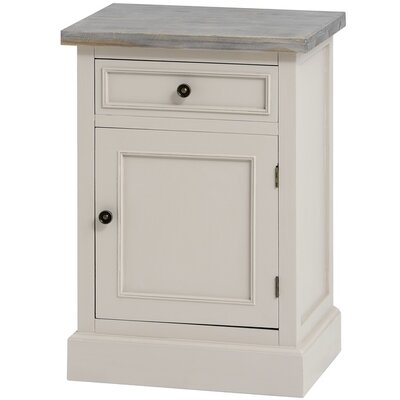 Hill Interiors Studley 1 Drawer Bedside Table