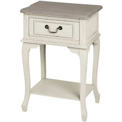 Hill Interiors Pavilion 1 Drawer Bedside Table