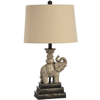 Hill Interiors Elephant  27cm Table Lamp