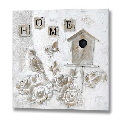 Hill Interiors Home Oil Graphic Art Unwrapped on Canvas