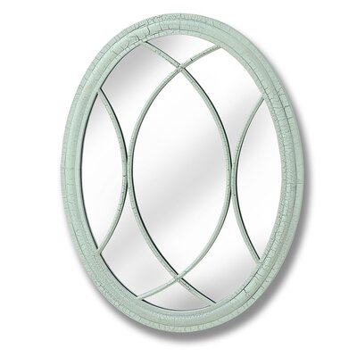 Hill Interiors Duck Egg Oval Mirror