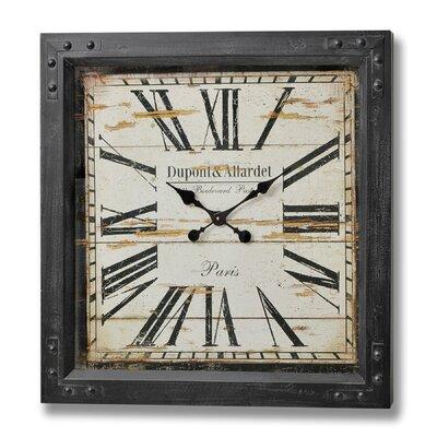 Hill Interiors Dupont and Allardet Paris Iron Wall Clock