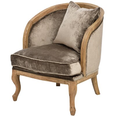 Hill Interiors Mink Tub Chair