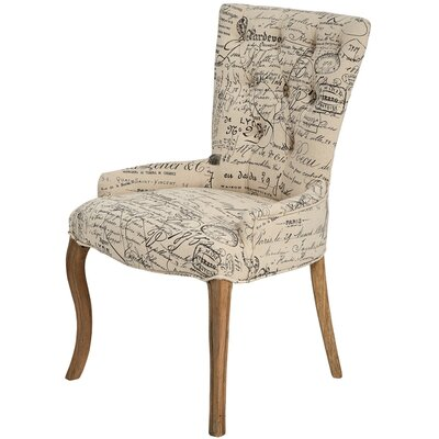 Hill Interiors Paris Scripted Occasional Wingback Chair