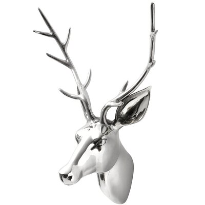 Hill Interiors Large Stag Head Wall Art