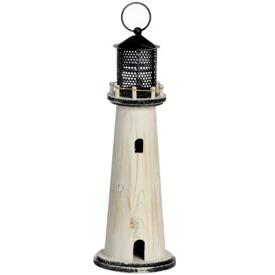 Hill Interiors Small Lighthouse Tea Light Holder