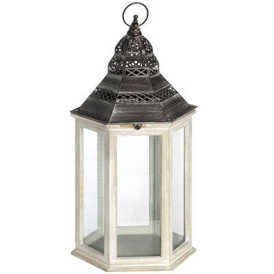 Hill Interiors Large Octagonal Wooden Lantern
