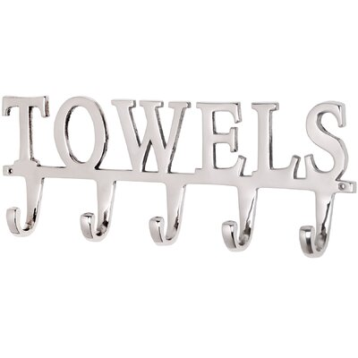 Hill Interiors Towel Wall Mounted Coat Rack