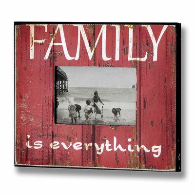 Hill Interiors Family Picture Frame