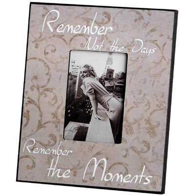 Hill Interiors Remember Picture Frame