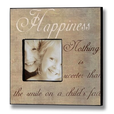 Hill Interiors Happiness Picture Frame