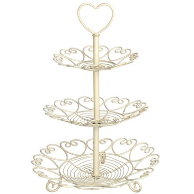 Hill Interiors 28 cm 3 Tier Cake Stand