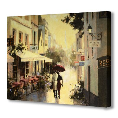 Hill Interiors Rainy Day Street Scene Art Print