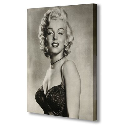 Hill Interiors Marilyn Monroe Photographic Print on Canvas