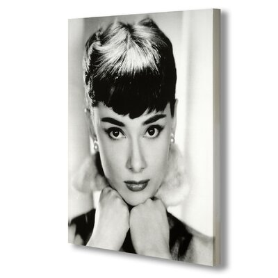 Hill Interiors Audrey Hepburn Photographic Print Wrapped on Canvas