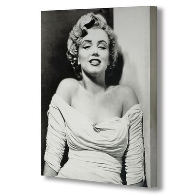 Hill Interiors Marilyn Monroe Photographic Print Wrapped on Canvas