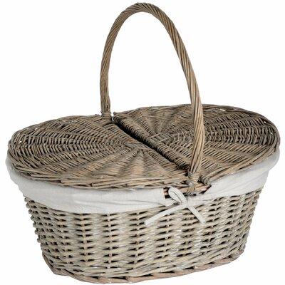 Hill Interiors Oval Picnic Basket/Hamper