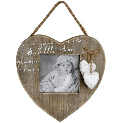 Hill Interiors Hanging Heart Picture Frame