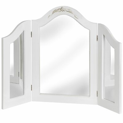 Hill Interiors White Room Arched Dressing Table Mirror